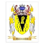 Hannuschik Small Poster
