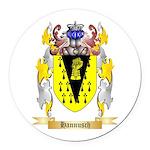 Hannusch Round Car Magnet