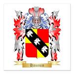 Hannum Square Car Magnet 3
