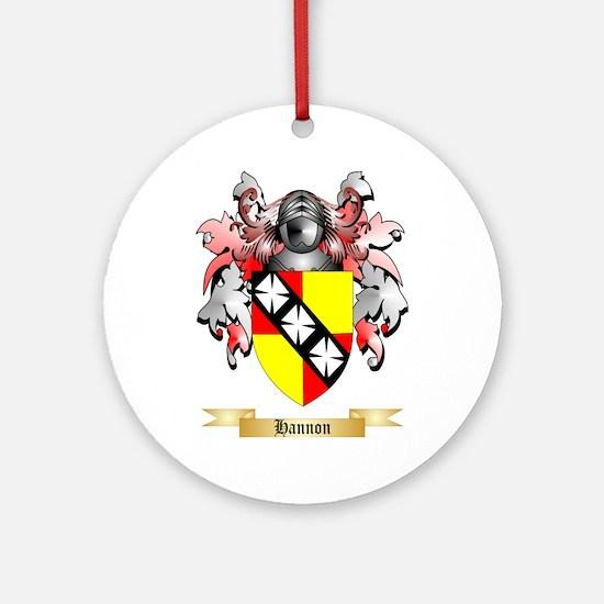 Hannon Ornament (Round)