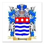 Hanning Square Car Magnet 3