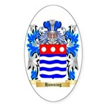 Hanning Sticker (Oval 50 pk)