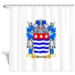 Hanning Shower Curtain