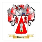 Hanniger Square Car Magnet 3