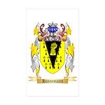 Hannemann Sticker (Rectangle 50 pk)