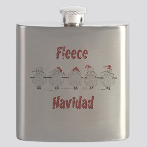 FUNNY Christmas  Fleece Navidad Sheep  Flask