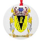 Hanneken Round Ornament