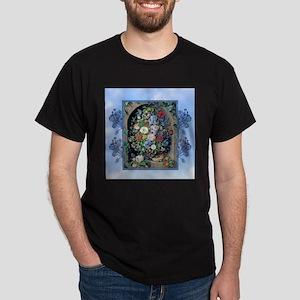 Victorian Garden Floral Niche T-Shirt