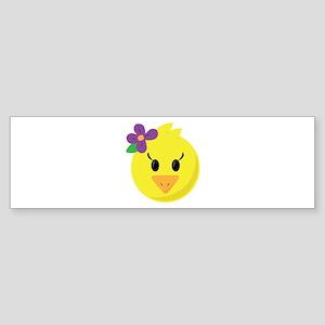 Pretty Chick Bumper Sticker