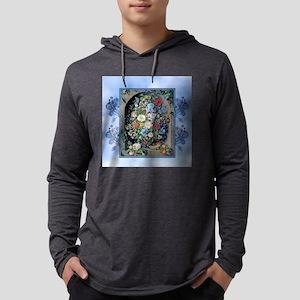 Victorian Garden Floral Niche Long Sleeve T-Shirt
