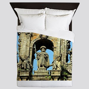 Cathedral of Santiago de Compostela, S Queen Duvet
