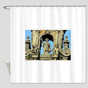 Cathedral of Santiago de Compostela Shower Curtain