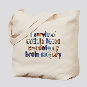 Middle fossa craniotomy - Tote Bag