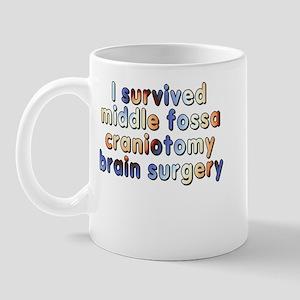 Middle fossa craniotomy - Mug