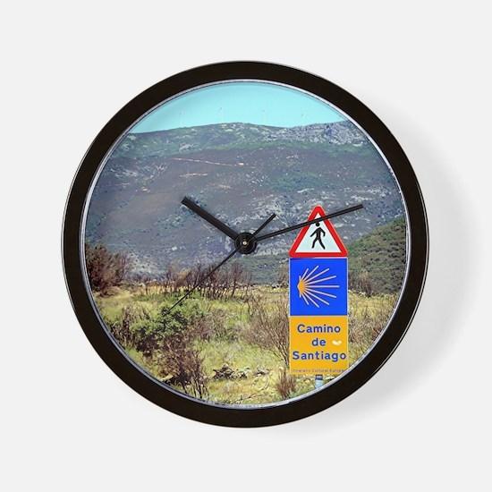 El Camino de Santiago de Compostela, Sp Wall Clock