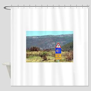 El Camino de Santiago de Compostela Shower Curtain