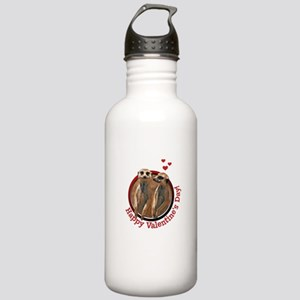 meerkatcouple-valentin Stainless Water Bottle 1.0L