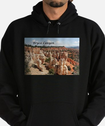 Bryce Canyon, Utah, USA 8 (caption) Hoodie (dark)