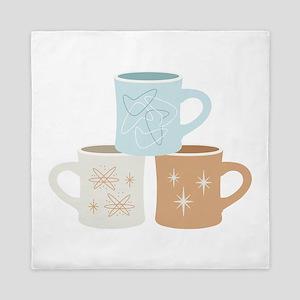 Coffee Mugs Queen Duvet