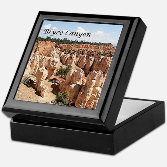 Bryce Canyon, Utah, USA 8 (caption) Keepsake Box