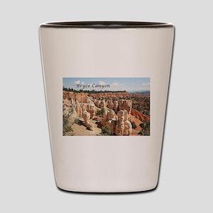 Bryce Canyon, Utah, USA 8 (caption) Shot Glass