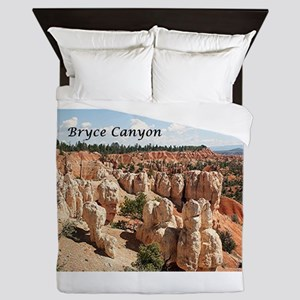 Bryce Canyon, Utah, USA 8 (caption) Queen Duvet