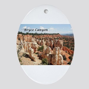 Bryce Canyon, Utah, USA 8 (caption Ornament (Oval)