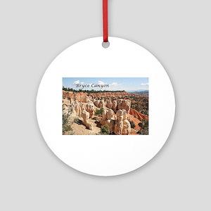 Bryce Canyon, Utah, USA 8 (captio Ornament (Round)
