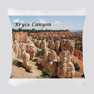 Bryce Canyon, Utah, USA 8 (cap Woven Throw Pillow