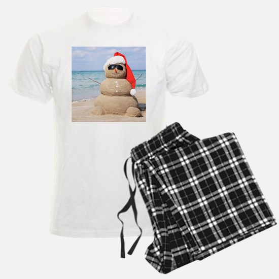 Beach Snowman Pajamas