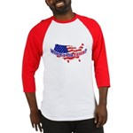 Where's The Fence - USA Baseball Jersey
