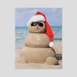 Beach Snowman Twin Duvet