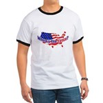 Where's The Fence - USA Ringer T