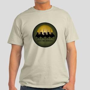 War Memorial T-Shirt Lest We Forget War Shirts