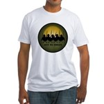 Lest We Forget War Fitted T-Shirt Fallen Soldier T