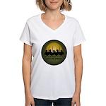 Lest We Forget Remembrance Women's V-Neck T-Shirt