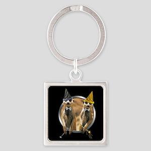 meerkat-ny-tile Keychains