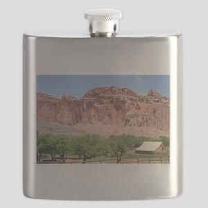 Fruita, Capitol Reef National Park, Utah, US Flask
