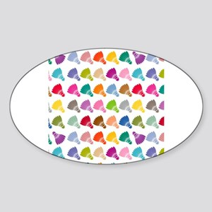 Colorful Badminton Sticker