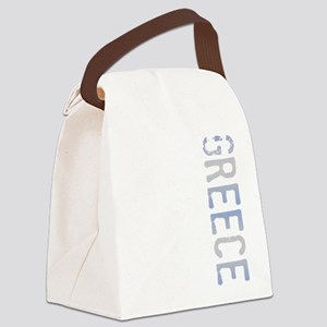 Greece Canvas Lunch Bag