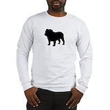 Bulldog Long Sleeve T-shirts
