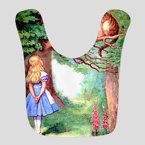 Alice & The Cheshire Cat Bib