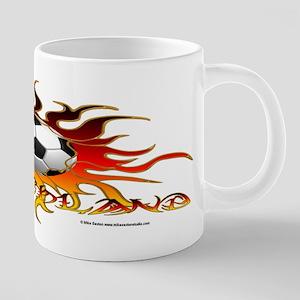 Soccer Tribal Sun Mugs