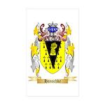 Hanschke Sticker (Rectangle 10 pk)