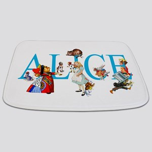 ALICE & FRIENDS IN WONDERLAND Bathmat