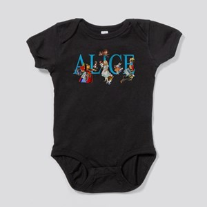 ALICE & FRIENDS IN WONDERLAND Baby Bodysuit