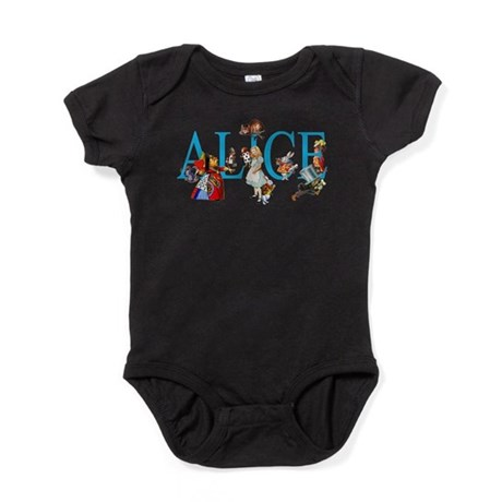 Alice In Wonderland Baby Clothes Accessories CafePress