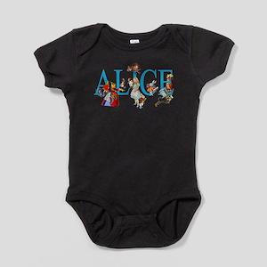 ALICE & FRIENDS IN WONDERLAND Baby Bodysuit