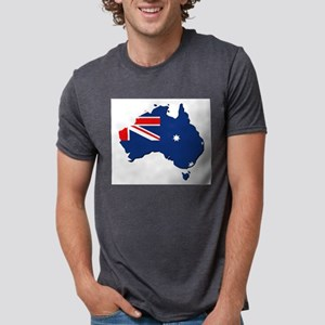 Australia map with flag T-Shirt
