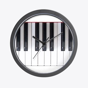 Keyboard 7 Wall Clock
